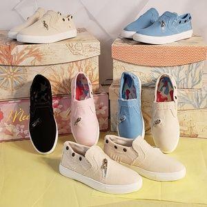 Khaki Canvas Sneakers